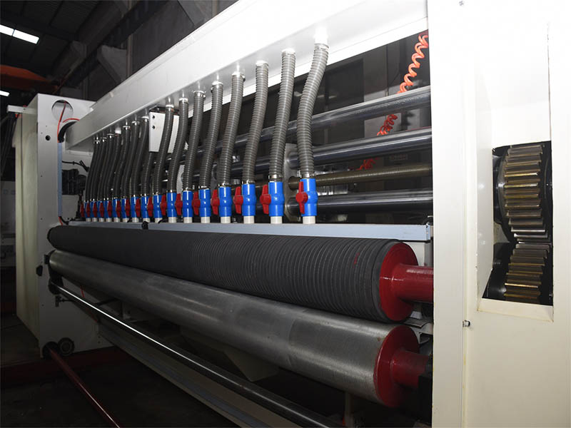 carton printing machine flexo 2 color