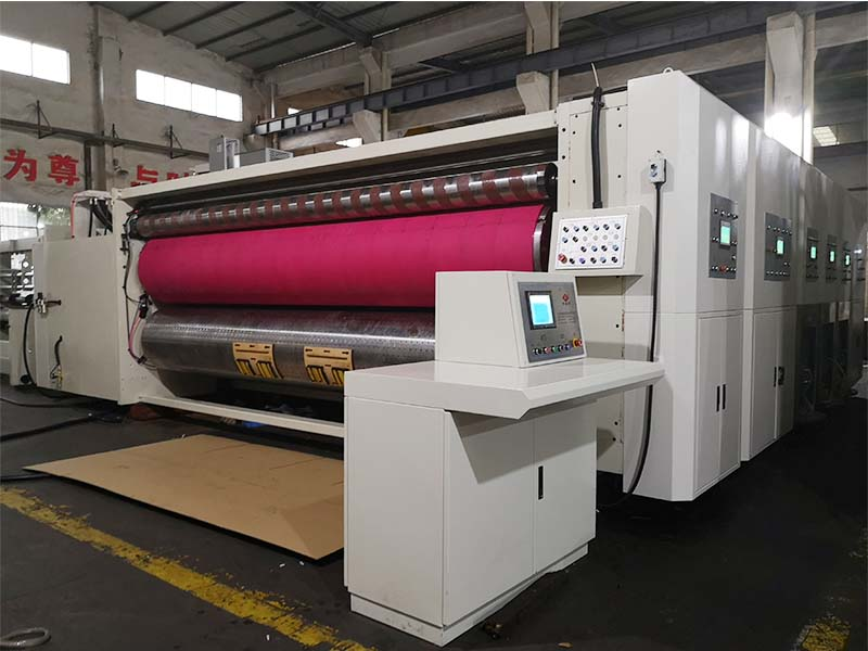 corrugated carton flexo printer machine