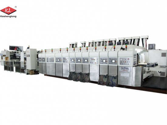 Corrugated Box Printing Slotting Machine